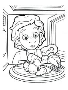 Дим Димыч и еда в микроволновке