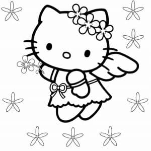 Хелло Китти ангел