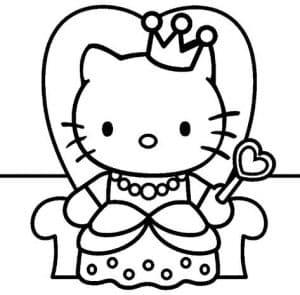 Хелло Китти принцесса