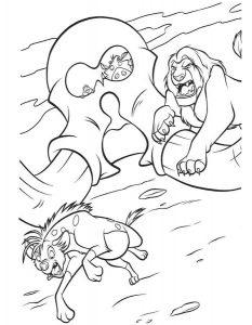 Муфаса и гиена