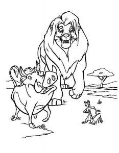 Пумба Тимон и Симба