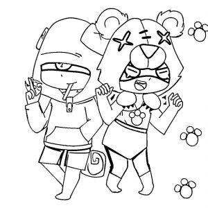 Леон и боец Сенди