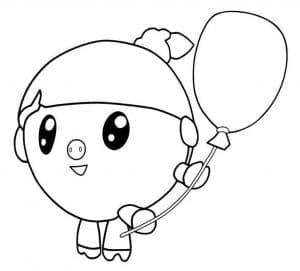 Нюшенька с воздушным шаром