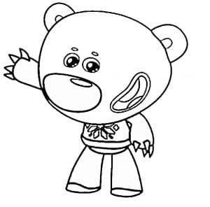 Тучка раскраска детская