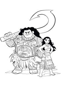 Моана и Мауи