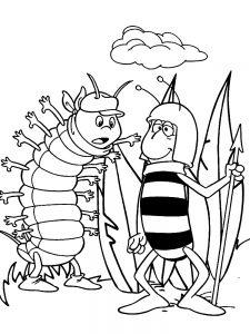 Пол и гусеница