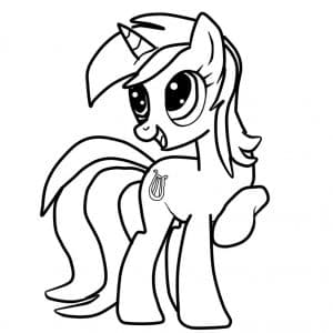 Веселая пони