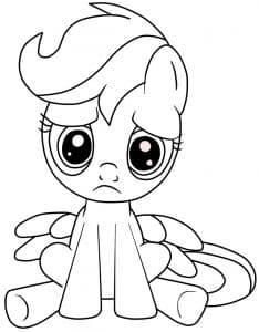 Красивая пони Понивиль