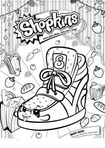 Шопкинс обувь