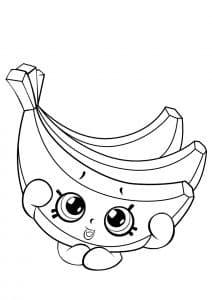 Шопкинс бананы