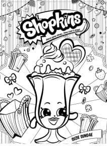 Шопкинс мороженное в бакале