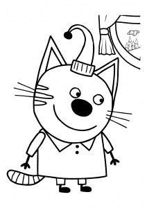 Папа Кот из мультфильма Три кота