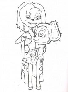 Мама Барбоскина и малыш