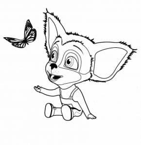 Малыш и бабочка Барбоскины