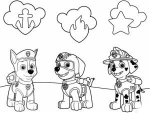 Щенячий патруль и их логотипы