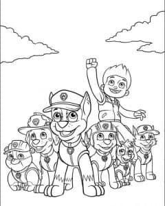 Команда Щенячьего патруля