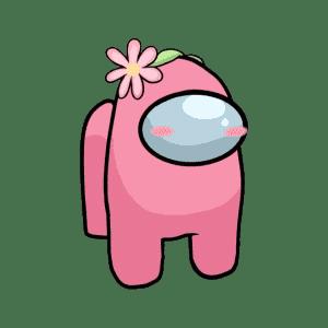розовый космонавт