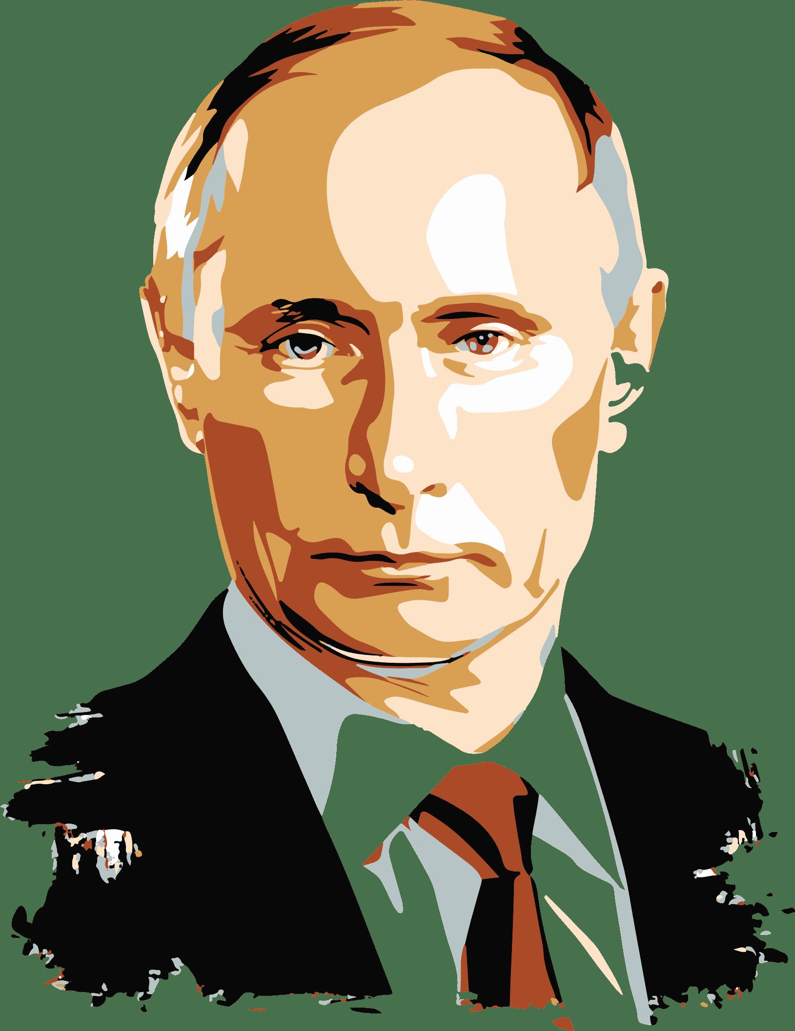 Раскраски Путин В.В.