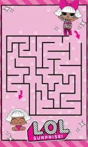 Лабиринт для девочек с Лол