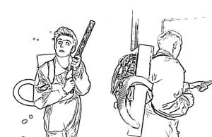 Раскраска Влад А4 с друзьями проходят челлендж