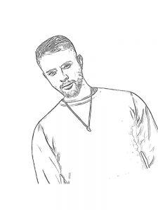 Бесплатная Раскраска с Егором Кридом