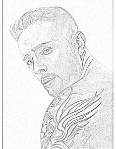 Раскраска с Егором Крид