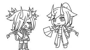 Рокзвезда-чан и подружка