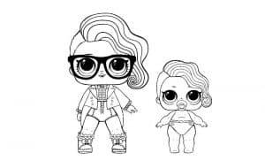 Куклы лол в очках