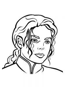 Классные Раскраски с Майклом Джексоном скачать