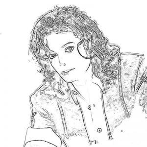 Раскраски с Майклом Джексоном распечатать бесплатно