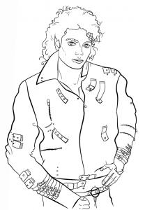 Майкл Джексон распечатать