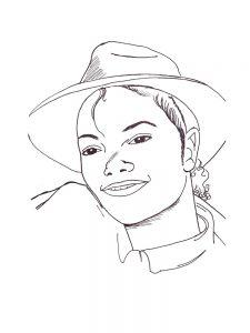 Раскраски с Майклом Джексоном в детстве