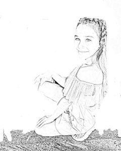 Бесплатные Раскраски с Миланой Некрсовой