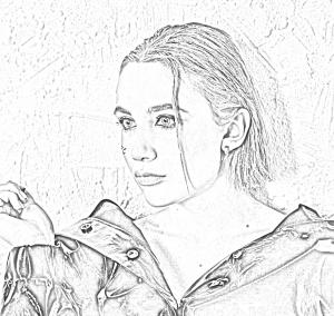Скачать бесплатные раскраски с певицей Миа Бойка