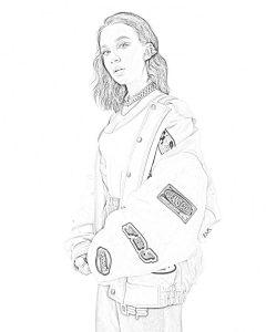 Миа Бойка раскраски в формате А4