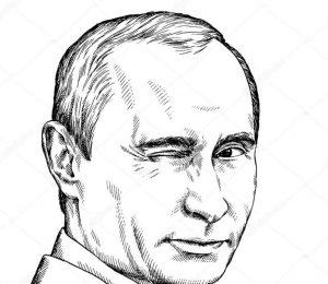 Прикольные Раскраски с Путиным Владимиром распечатать бесплатно