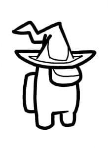 Амонг Ас в шляпе волшебника