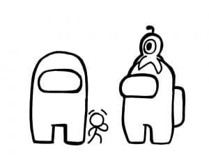 Амонг Ас и маленький питомец